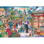 Puzzle  The-House-of-Puzzles-3497 Christmas Collectors Edition No.10 - Window Shopping
