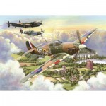 Puzzle  The-House-of-Puzzles-3510 Pièces XXL - Final Approach
