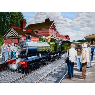 Puzzle The-House-of-Puzzles-3725 All Aboard