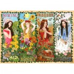 Puzzle  The-House-of-Puzzles-4203 Four Seasons