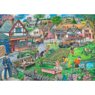 Puzzle The-House-of-Puzzles-4296 Wartime Green