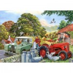 Puzzle  The-House-of-Puzzles-4340 Pièces XXL - Bob & His Dog