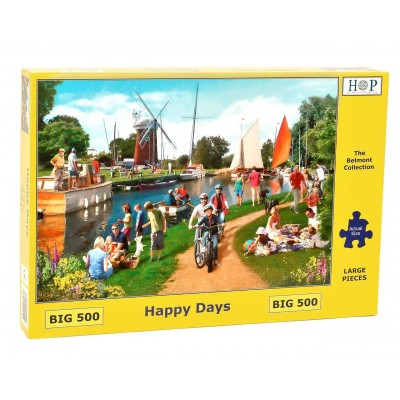 Puzzle The-House-of-Puzzles-4524 Pièces XXL - Happy Days