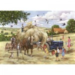 Puzzle  The-House-of-Puzzles-4548 Pièces XXL - Making Hay