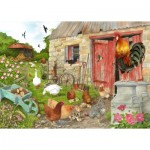 Puzzle  The-House-of-Puzzles-4555 Pièces XXL - Ruling The Roost
