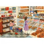 Puzzle  The-House-of-Puzzles-4586 Pièces XXL - Tuppenny Treats