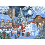 Puzzle  The-House-of-Puzzles-4845 Christmas Collectors Edition No.14 - Seeing Double