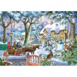 Puzzle  The-House-of-Puzzles-4876 Pièces XXL - Almost Home