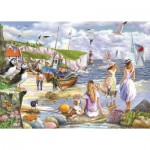 Puzzle  The-House-of-Puzzles-4937 Pièces XXL - Sea Shore Breezes