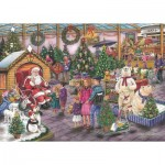 Puzzle  The-House-of-Puzzles-4951 Trouvez les 15 Différences No.17 - Deck The Halls
