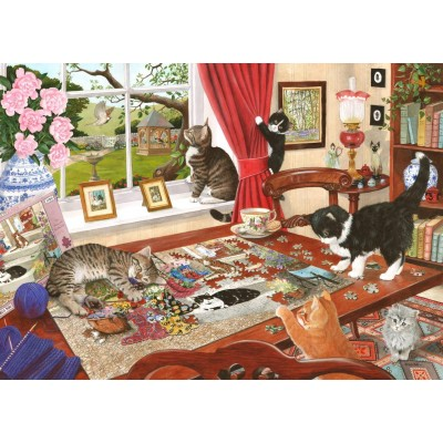 Puzzle The-House-of-Puzzles-5026 Puzzling Paws