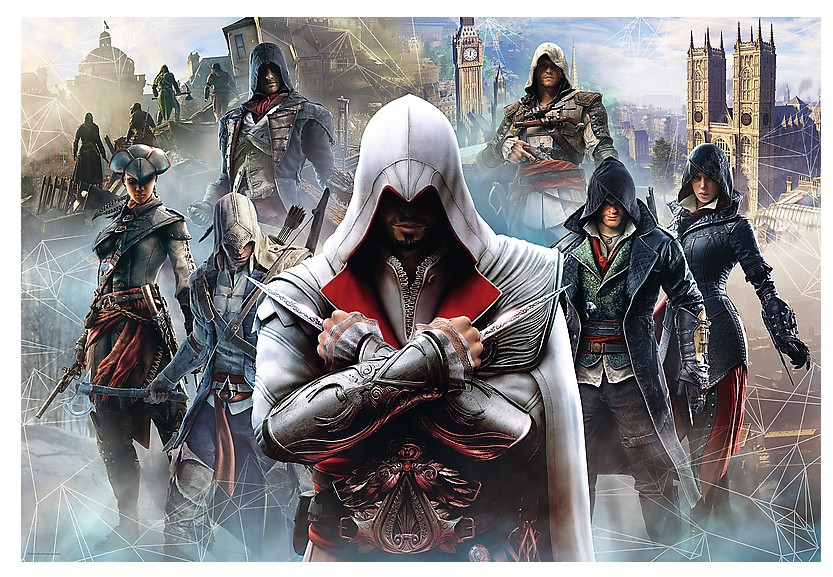 Puzzle Assassin's Creed Trefl-26142 1500 pièces Puzzles ...