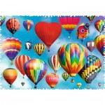 Puzzle  Trefl-11112 Crazy Shapes - Colorful Balloons