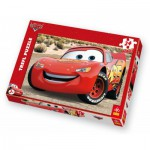 Puzzle  Trefl-14082 Cars : Flash Mc Queen