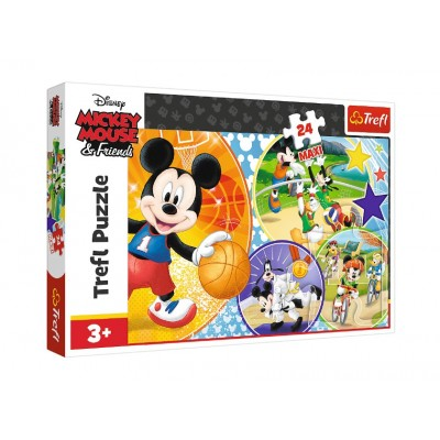Puzzle Trefl-14291 Pièces XXL - Mickey Mouse and Friends