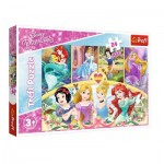 Puzzle  Trefl-14294 Disney Princess