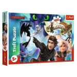 Puzzle  Trefl-16392 Dreamworks - Dragons