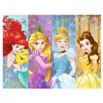 Puzzle  Trefl-18205 Disney Princesses