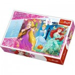 Puzzle  Trefl-18234 Disney Princess