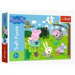 Puzzle  Trefl-18245 Peppa Pig - Forest Expedition