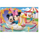 Puzzle  Trefl-19276 Mickey et Minnie s'aiment