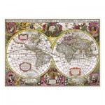 Puzzle  Trefl-27095 A New Land and Water Map of the Entire Earth, 1630