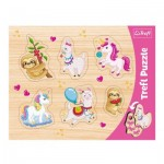 Trefl-31311 Puzzle Cadre - Licorne