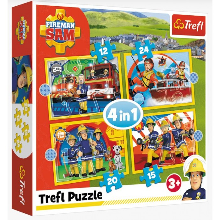 """4in1"" - Helpful Fireman Sam"