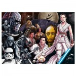 Puzzle  Trefl-37375 Star Wars 9