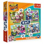 4 Puzzles - Nickelodeon - Top Wing