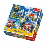 4 Puzzles - Super Wings