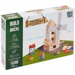 Puzzle  Trefl-60984 Build with Bricks - Le Moulin