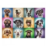 Puzzle   Funny Dog Portraits