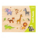 Puzzle Cadre - Animaux Sauvages