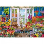 Wentworth-831208 Puzzle en Bois - Flower Shop