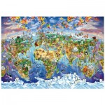 Puzzle en Bois - World Wonders