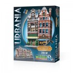 Wrebbit-3D-0503 Puzzle 3D - Collection Urbania - Café
