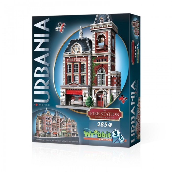 Puzzle 3D - Collection Urbania - Caserne de Pompiers