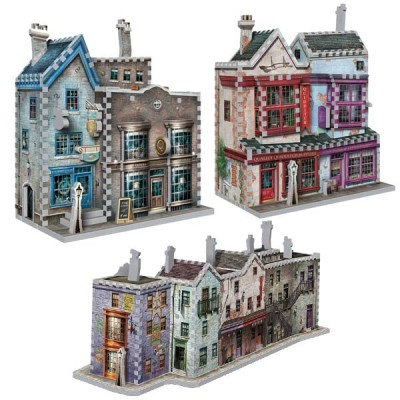 Wrebbit-Set-Harry-Potter-5 3 Puzzles 3D - Set Harry Potter (TM)