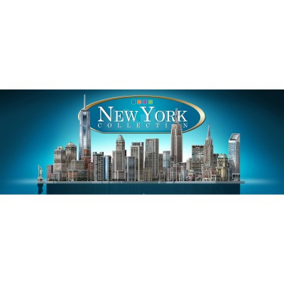 Wrebbit-Set-New-York Puzzle 3D - Collection Complète New York